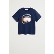 Mango Kids - Tricou copii Summer 110-164 cm