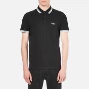 BOSS Green Men's Paddy Basic Polo Shirt - Black - M - Black
