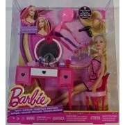 Mattel Barbie Hair-Tastic Vanity With Doll