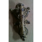 Cast iron antique brown/rust door knocker cd-1318