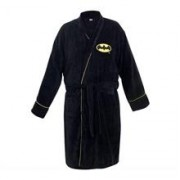 Halat De Baie Classic Batman Dc Comics Unisex Fleece Dressing Gown Black