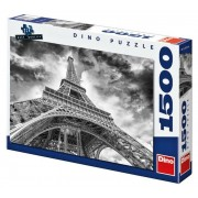 Puzzle Nori Trefl peste Turnul Eiffel 1500, producător Trefl.