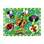 Melissa & Doug 3729 Insects Chunky Puzzle