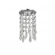 Ideal lux - Lampă încastrată de cristal 1xGU10/28W/230V crom