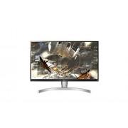 LG 27UK650-W Écran PC 27 '' UHD -3840x2160-Dalle IPS - 5ms (350Cd-sRGB 99% - HDMI 2.0 x 2 DisplayPort 1.2x1)