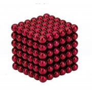EH Imán Magic Bolas 216pcs Juego de Puzzle magnético 5mm rojo