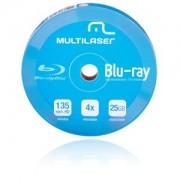 Midia BLU-RAY Multilaser Printable C/10 DV057