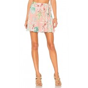 Privacy Please Randall Skirt in Coral. - size M (also in L,S,XS,XXS)