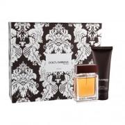 Dolce&Gabbana The One For Men set cadou EDT 50 ml + Balsam dupa barbierit 75 ml pentru bărbați