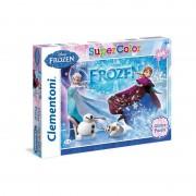 Clementoni puzzle Frozen 104 kom glitter
