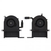 1 Pair iPartsBuy for Macbook Pro 13.3 inch A1425 (Late 2012 - Early 2013) Cooling Fans (Left + Right)