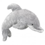 Large Stuffed Animals Stuffed Dolphin Toy Animal Gray Dolphin