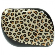 Cosmix Stores Tangle Remover Compact Styler Detangling Brush (Leopard Pattern Yellow)