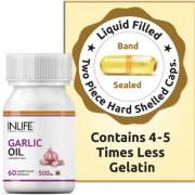 INLIFE Garlic Oil 500mg - 60 Capsules