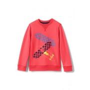 Lands' End Rundhals-Sweatshirt mit Grafik-Print für große Jungen - Orange - 152/164 von Lands' End