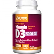 Jarrow Formulas Vitamin D3 5000 Iu - 100 Softgels