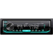 JVC Kd-X451dbt Autoradio Bluetooth 1 Din Usb Frontale Lettore Mp3 Radio Dab Fm Ingresso Aux Colore Nero - Kd-X451dbt