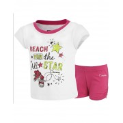 Converse - All Star Infant Set Tricou si Pantaloni Scurti, Reach For the Star