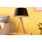 Bighome.cz Bighome - Stolná lampa TRIP 64 cm - černá