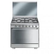 SMEG cucina a gas cx60sv9 forno elettrico ventilato Incasso Elettrodomestici