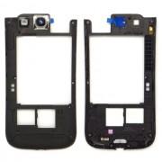 Frame ou carcaça traseira Samsung Galaxy SIII S3 i9300 preta