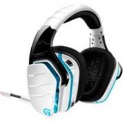 Геймърски слушалки Logitech, G933 Artemis Spectrum Surround Sound Wireless 7.1, Безжични, Микрофон, Бели, LOGITECH-HEAD-G933-WHITE, Refurbished