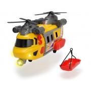 Elicopter pentru interventie rapida cu lumini, sunete si targa Dickie Toys 30 cm