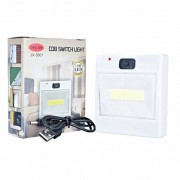 Lanterna Lampa de Veghe COB LED 3W tip Intrerupator cu USB JX5801