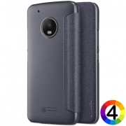 Motorola Moto G5 Plus Nillkin Кожен калъф и Протектор