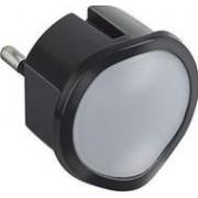 Csatlakozódugó Tartalékvilágítással, Led, Fényerőszabályozható, Fekete 050679-Legrand