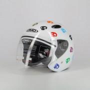 DMD Casco Jet 007 Skull White