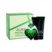 Thierry Mugler Aura confezione regalo eau de parfum ricarica 50 ml + lozione corpo 50 ml + doccia crema 50 ml donna