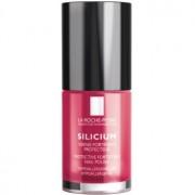 La Roche-Posay Silicium Color Care esmalte de uñas tono 18 Rose Vif 6 ml