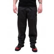 Pantalon hommes SURPLUS - RANGER TROUSER - Noir - 05-3581-03