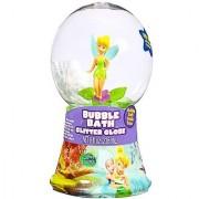 Disney Princess Fairies Bubble Bath Glitter Globe (8 inches) Featuring Disney Fairies and Tinkerbell