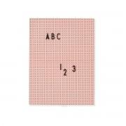 Design Letters - Message Board A4, nude