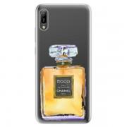 Odolné silikonové pouzdro iSaprio - Chanel Gold - Huawei Y6 2019