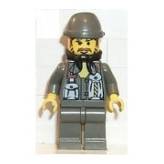 Lego Rock Raiders Docs Minifigure