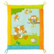 Детско килимче за игра с дрънкалка и огледалце - Sleeping Forest - BabyFehn, 263539