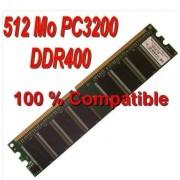 Elixir - Mémoire - 512 Mo - DDR - DIMM 184 Broches - PC2-3200 - 400 MHz - CL3