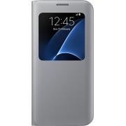 Samsung S View Cover voor Samsung Galaxy S7 Edge - Zilver