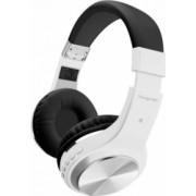 Casti audio wireless pliabile on-ear cu controale incorporate Tango-BT alb