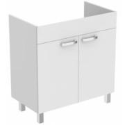 Baza lavoar pe pardoseala Ideal Standard Tempo 80 cm, alb lucios -E3241WG