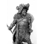 TIN HISTORY MINIATURE TIN FIGURES CELTIC WARRIOR 3TH CENTURY BC 95MM R5