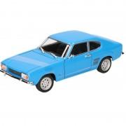 Goki Modelauto Ford Capri 1969 blauw 17,5 cm