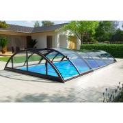Swimmingpool-Überdachung Klasik Clear B