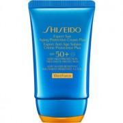 Shiseido Sun Care Expert Sun Aging Protection Cream WetForce crema solar facial SPF 50+ 50 ml