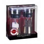 Комплект мелнички за сол и пипер COLE & MASON HORSHAM с механизъм за прецизност - 15.4 см