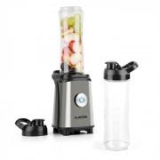 Klarstein Tuttifrutti mini mixer, 350 W, 600 ml, keresztpengék, BPA mentes, fémszínű (TK30-Tuttifrutti-S)
