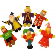 Set Papusi Degetar - 'Frumoasa Din Padurea Adormita' Si 'Regele Arthur'